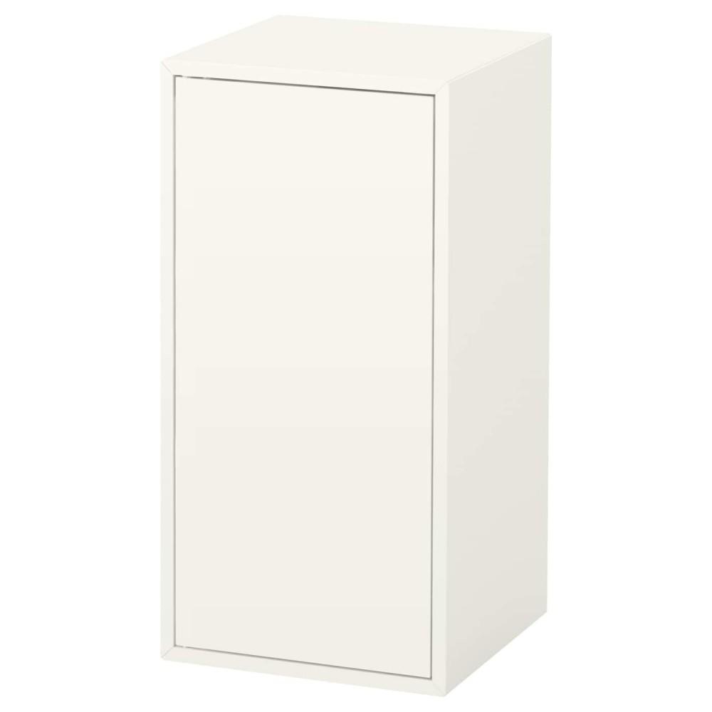 ЭКЕТ Шкаф с дверцей и 1 полкой, белый