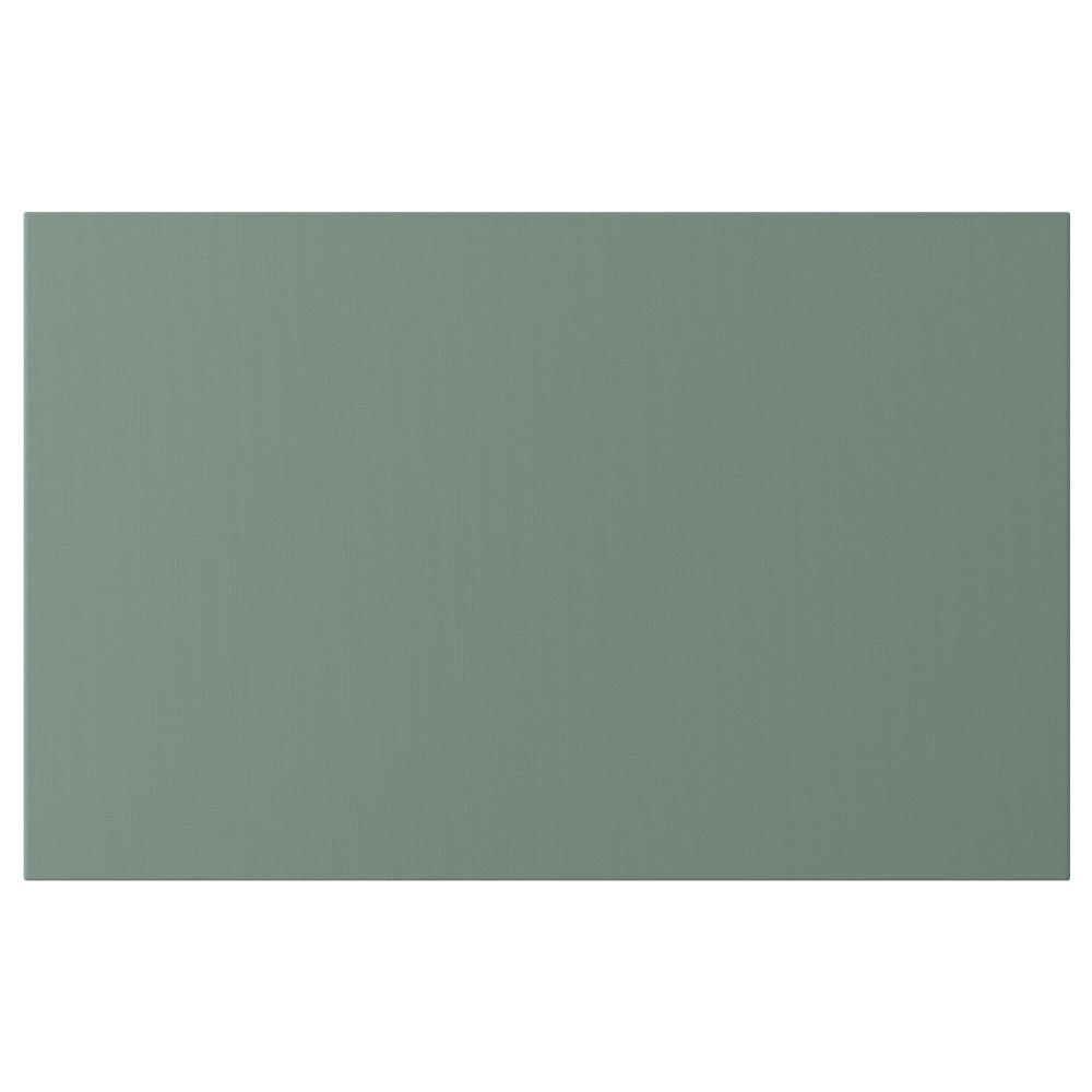 НОТВИКЕН Дверь/фронтальная панель ящика, серо-зеленый