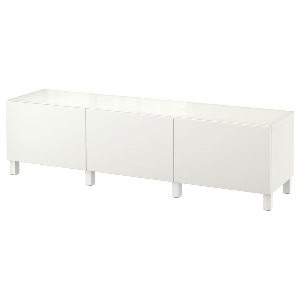 БЕСТО Комбинация для хранения с ящиками, белый, Лаппвикен белый