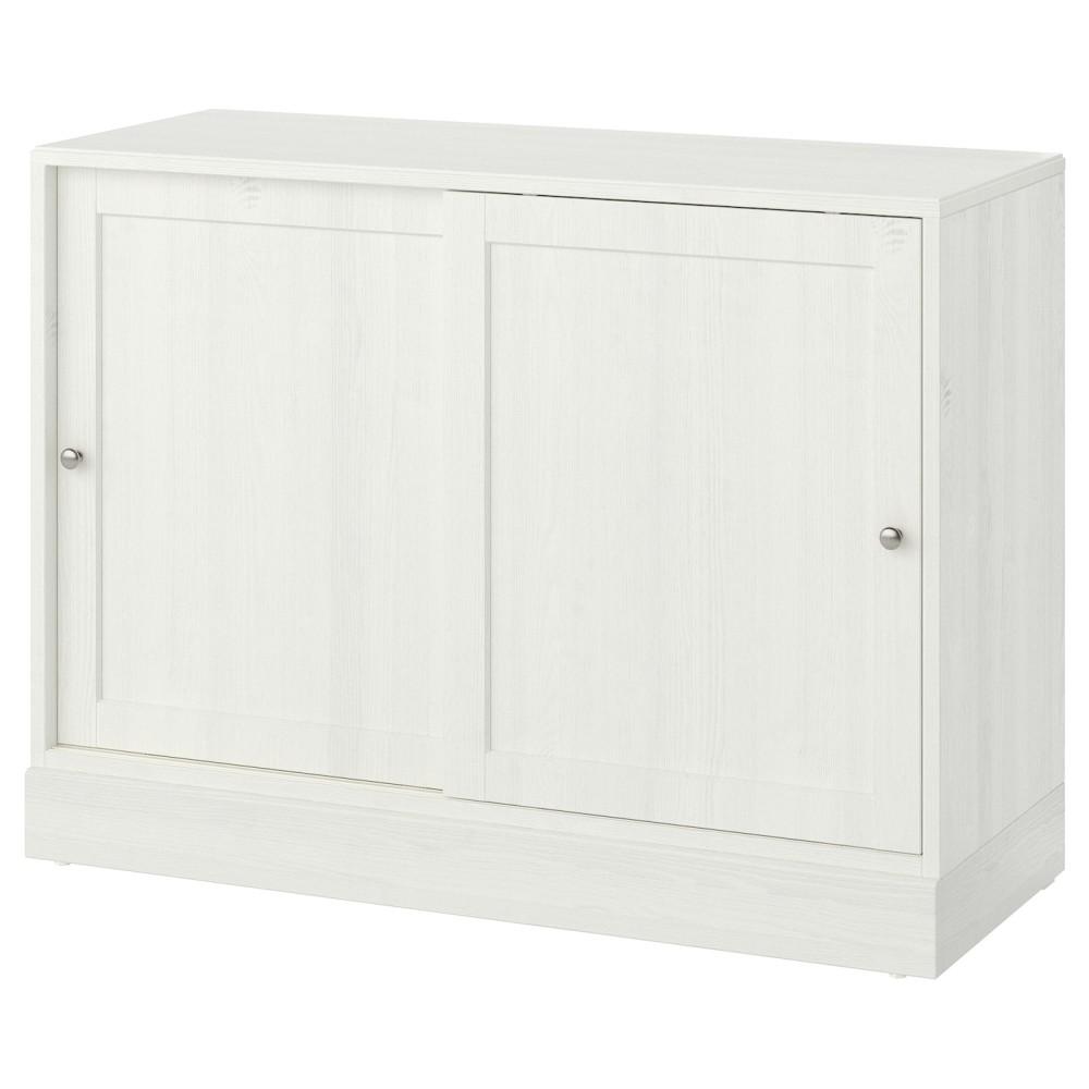 ХАВСТА Шкаф с цоколем, белый