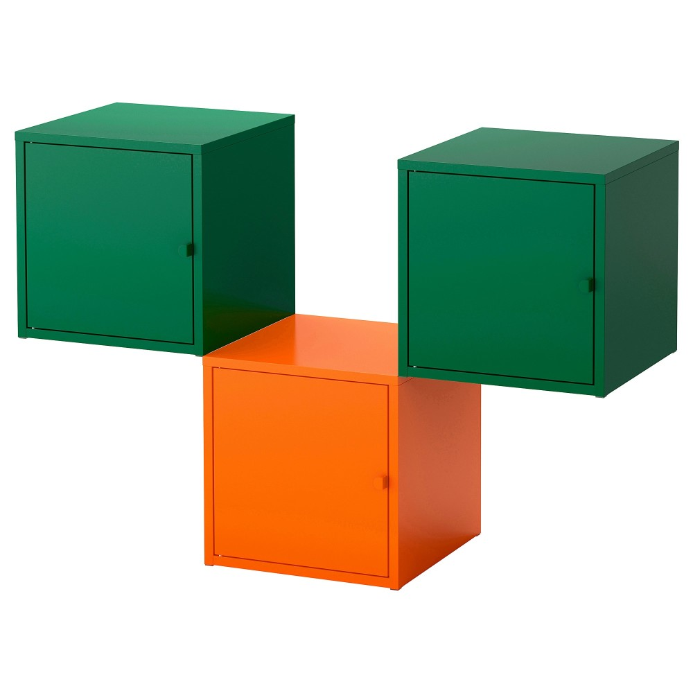 ЛИКСГУЛЬТ Комбинация д/хранения, оранжевый, темно-зеленый