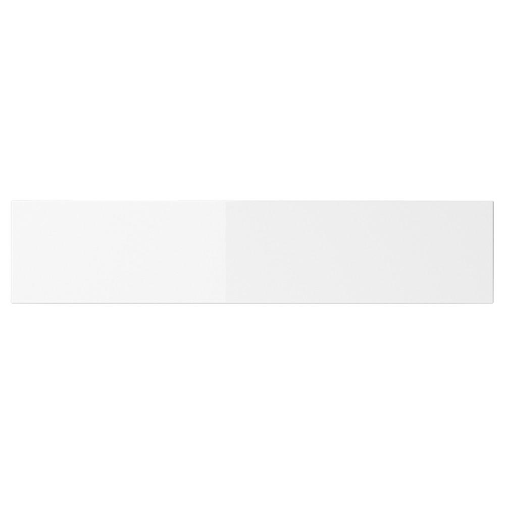 АББЕТОРП Фронтальная панель ящика, глянцевый белый