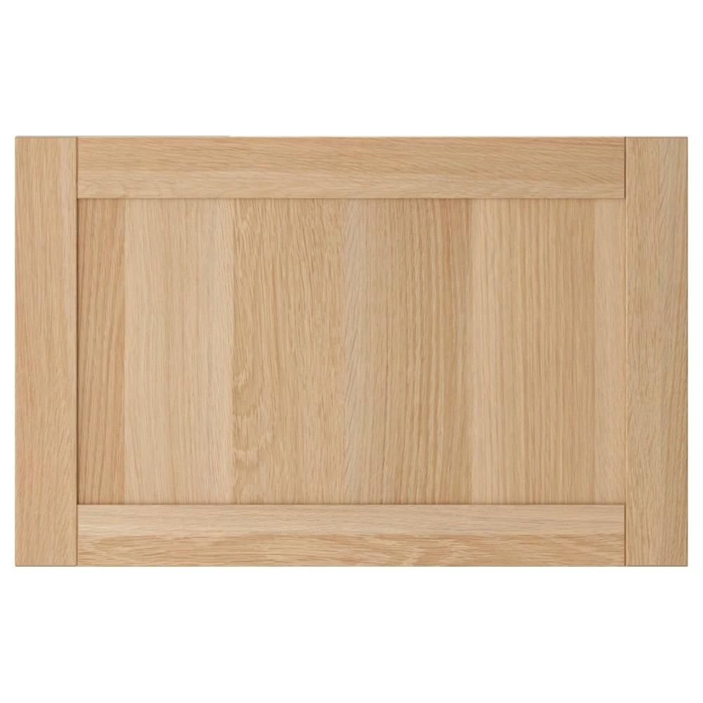 ХАНВИКЕН Дверь/фронтальная панель ящика, под беленый дуб