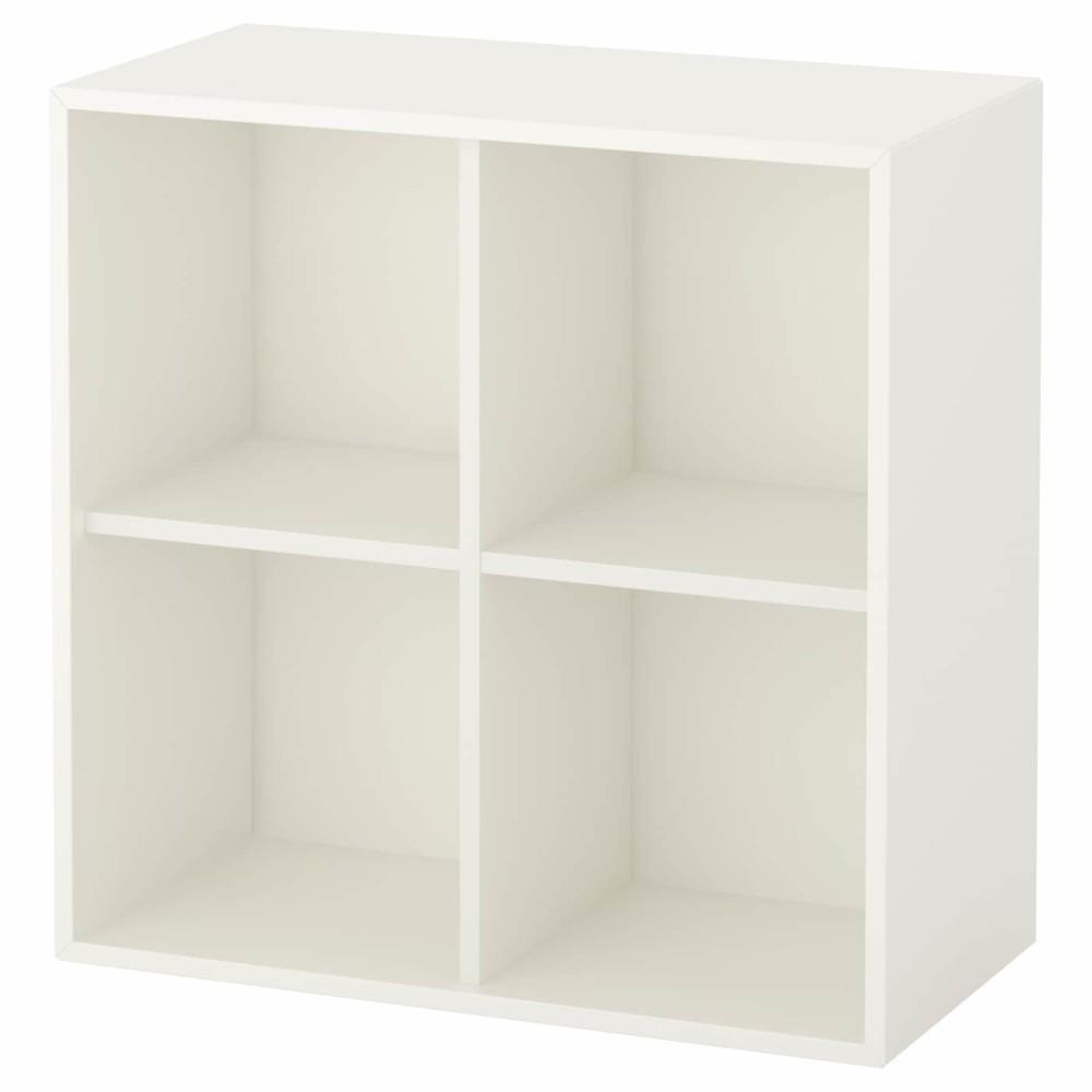 ЭКЕТ Шкаф с 4 отделениями, белый