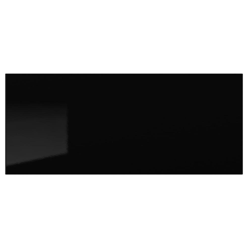 СЕЛЬСВИКЕН Фронтальная панель ящика, глянцевый черный