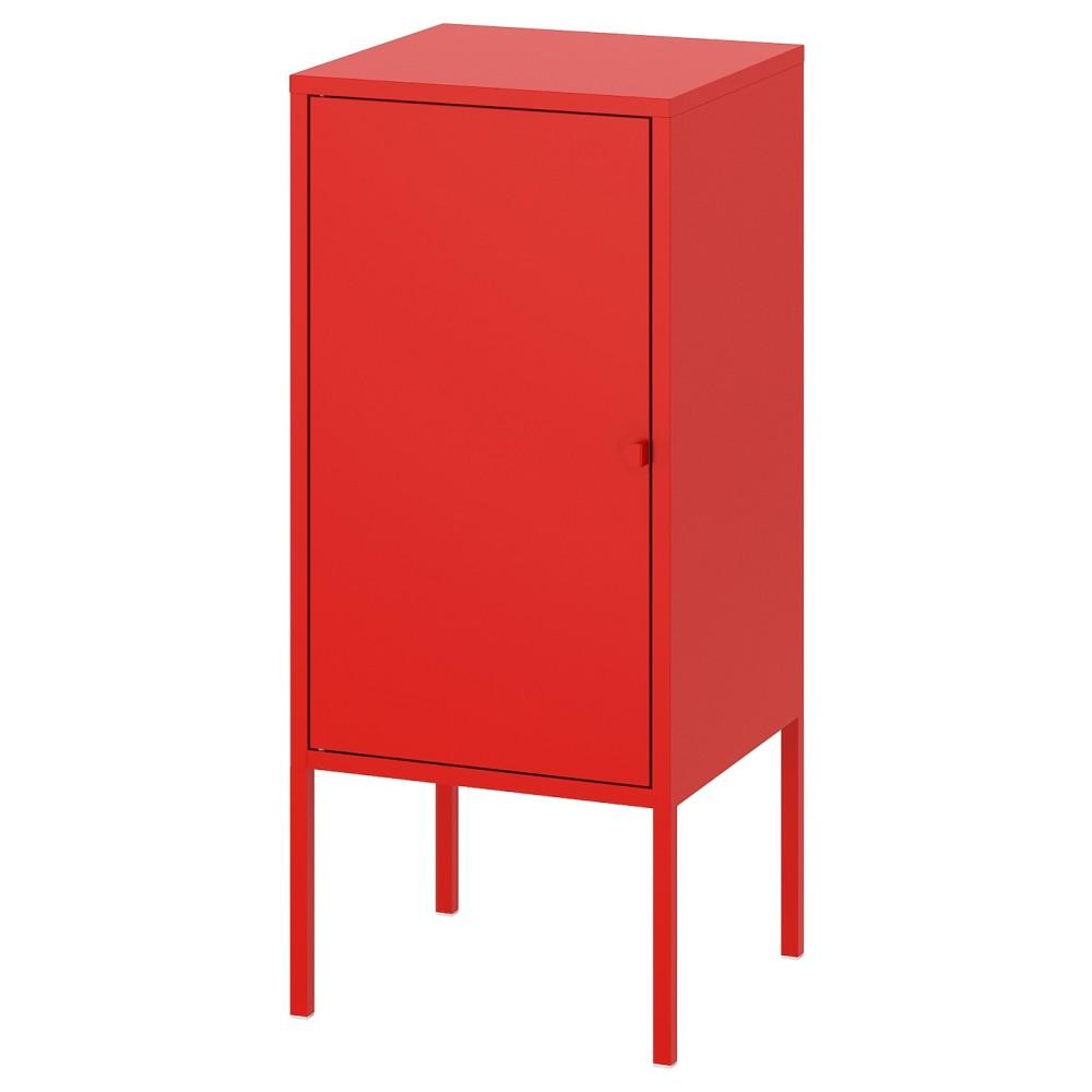ЛИКСГУЛЬТ Шкаф, металлический, красный