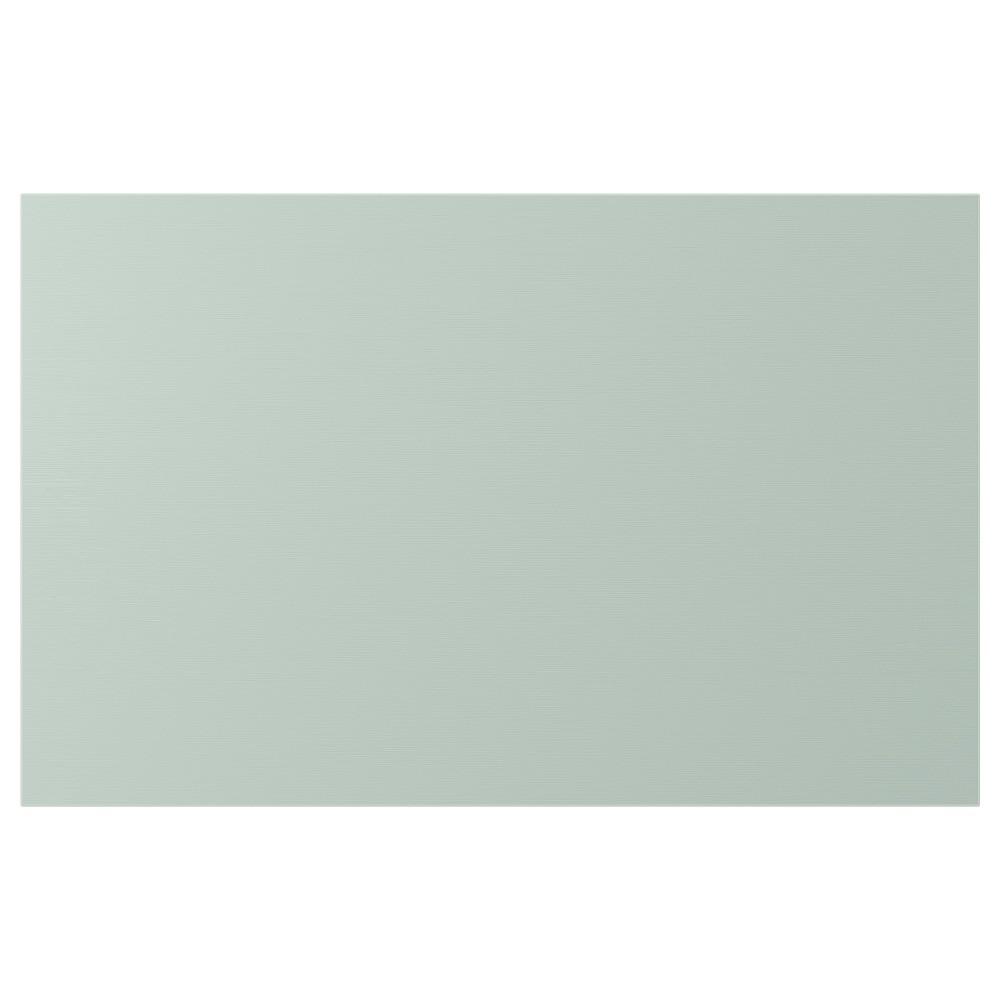ХЁРТВИКЕН Дверь/фронтальная панель ящика, бледный серо-зеленый