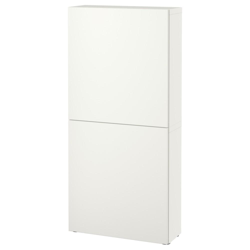 БЕСТО Навесной шкаф с 2 дверями, Лаппвикен белый
