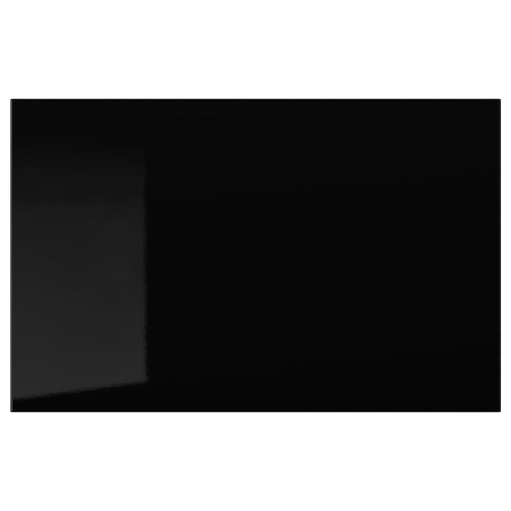 СЕЛЬСВИКЕН Дверь/фронтальная панель ящика, глянцевый черный