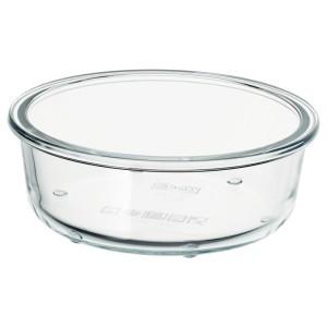 ИКЕА/365+ Контейнер для продуктов, круглой формы, стекло