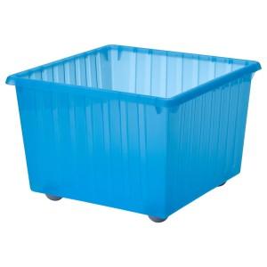 ВЕССЛА Ящик на колесах, синий