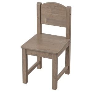 СУНДВИК Детский стул, серо-коричневый