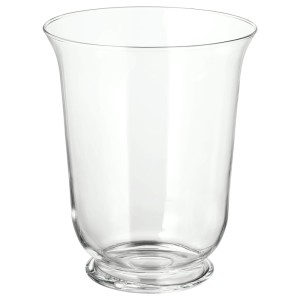 ПОМП Ваза/фонарь, прозрачное стекло