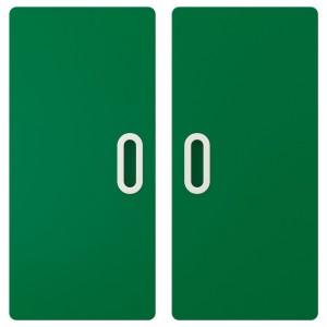 ФРИТИДС Дверь, зеленый, 2шт