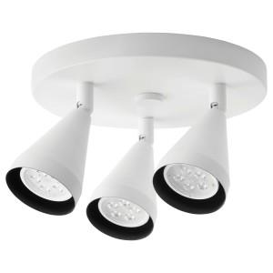 НЭВЛИНГЕ Потолочный софит, 3 лампы, белый