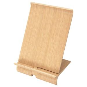 СИГФИН Подставка д/мобильного телефона, бамбуковый шпон