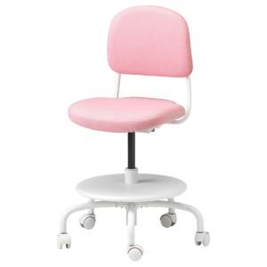 ВИМУНД Детский стул д/письменного стола, Висле розовый