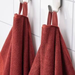 ХИМЛЕОН Полотенце, коричнево-красный, меланж