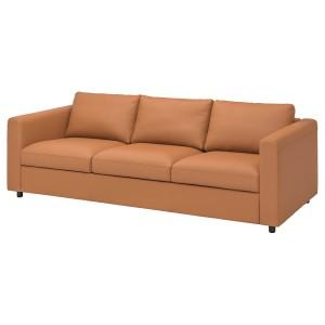 ВИМЛЕ 3-местный диван, Гранн/Бумстад золотисто-коричневый