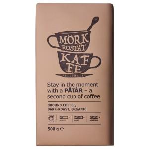 PÅTÅR Кофе молотый, сильной обжарки, ., сертификат UTZ/100 % зерна Арабики, 0.5кг