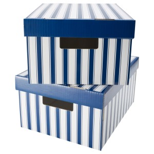 ПИНГЛА Коробка с крышкой
