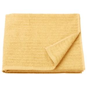 ВОГШЁН Банное полотенце, светло-желтый