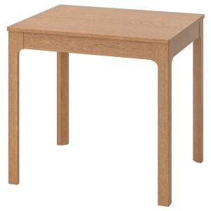 ЭКЕДАЛЕН Раздвижной стол, дуб