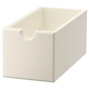 ТОРНВИКЕН Ящик, белый с оттенком