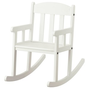 СУНДВИК Кресло-качалка детское, белый