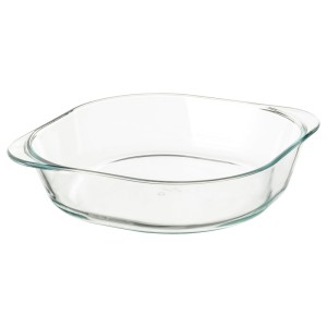 ФОЛЬСАМ Форма для духовки, прозрачное стекло