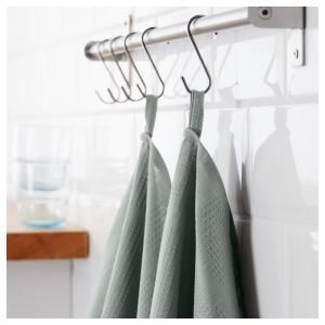 ИРИС Полотенце кухонное, серый, 2шт