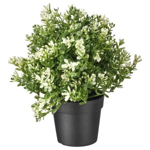 ФЕЙКА Искусственное растение в горшке, чабрец