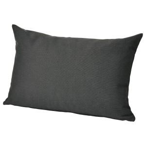 ХОЛЛО Подушка д/садовой мебели, черный
