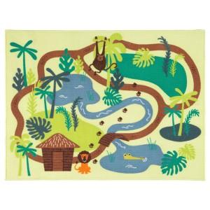 ДЬЮНГЕЛЬСКОГ Ковер, короткий ворс, джунгли, деревья