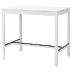 ЭКЕДАЛЕН Барный стол, белый