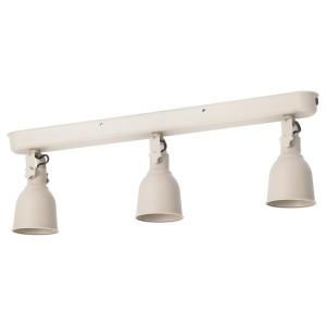 ХЕКТАР Потолочная шина, 3 лампы, бежевый