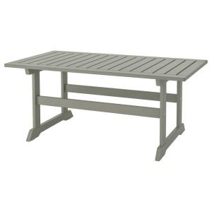 БОНДХОЛЬМЕН Садовый столик, серый морилка серый