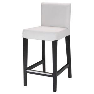 ХЕНРИКСДАЛЬ Барный стул, темно-коричневый