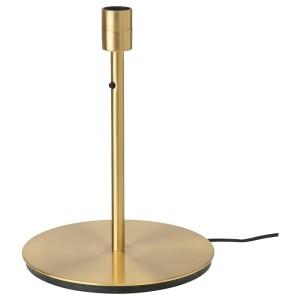 СКАФТЕТ Основание настольной лампы, желтая медь