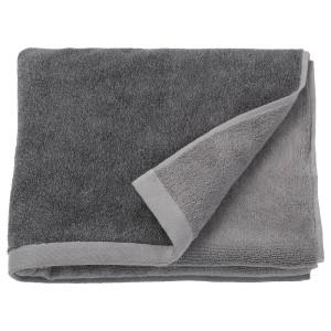 ХИМЛЕОН Банное полотенце, темно-серый, меланж