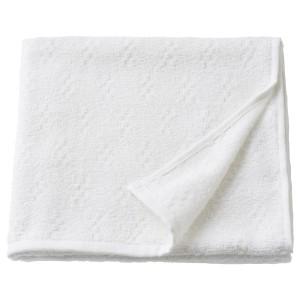 НЭРСЕН Банное полотенце, белый