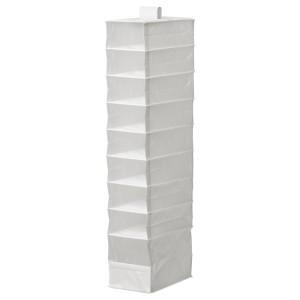 СКУББ Модуль для хранения с 9 отдл, белый