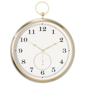 КУТТЕРСМЮККЕ Настенные часы, серебристый