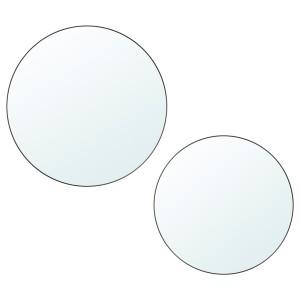 ПЛОМБО Зеркало, 2 шт, темно-серый