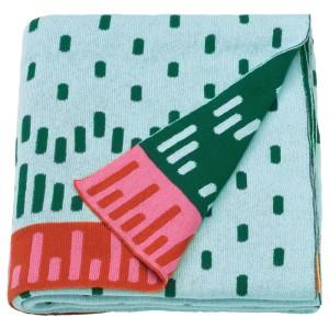 КЭППХЭСТ Детское одеяло, вязаный, разноцветный