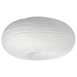 РИСБЮН Светодиодный потолочный светильник, белый