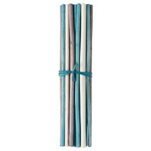 САЛТИГ Декоративная палочка, ароматический белый, бирюзовый