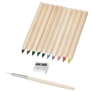 МОЛА Цветной карандаш, разные цвета, 10шт