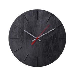ВОКАЛИССА Настенные часы, под дерево, черный