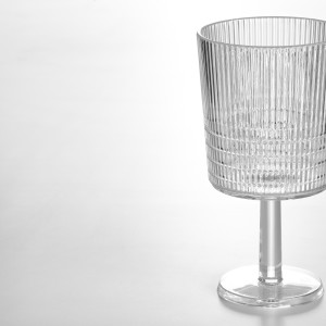 Бокал для вина, прозрачный пластик
